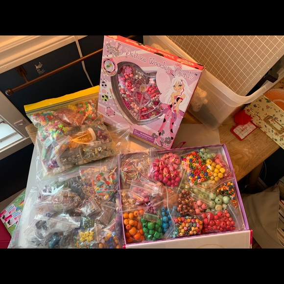 Big Lot of Colorful Beads